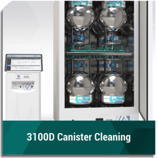 3100D Canister Cleaning