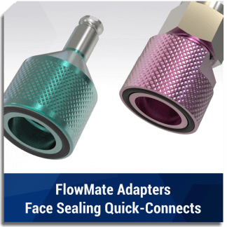 FlowMate Adapters - Face Sealing Quick Connects