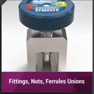 Fittings, Nuts, Ferrules, Unions
