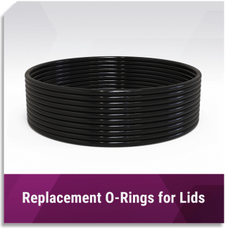 Replacement O-Rings for Lids
