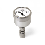 "30-0""Hg Vacuum Test Gauge w/ Micro-QT"