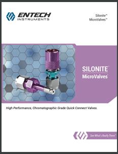 Silonite<sup></noscript>TM</sup> MicroValves