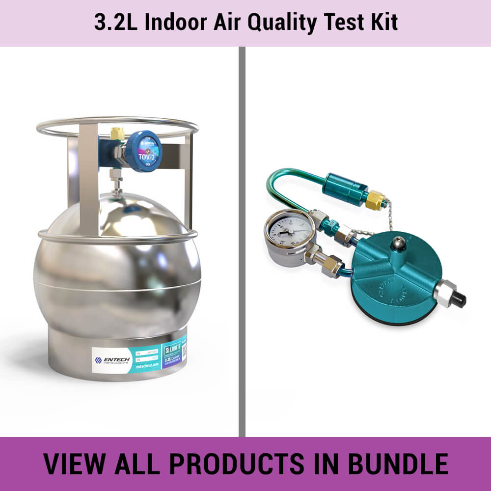 3.2L Indoor Air Quality Test Kit - Entech Instruments