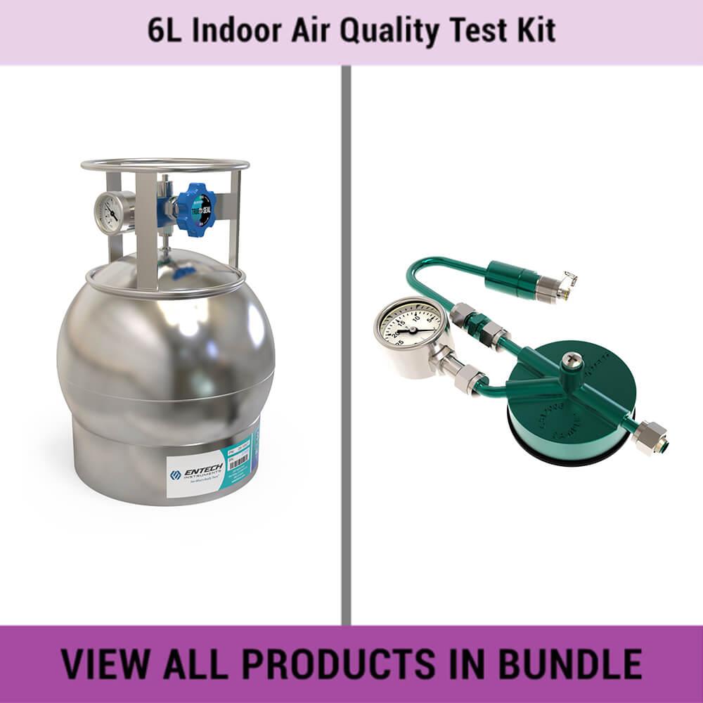 6L Indoor Air Quality Test Kit - Entech Instruments