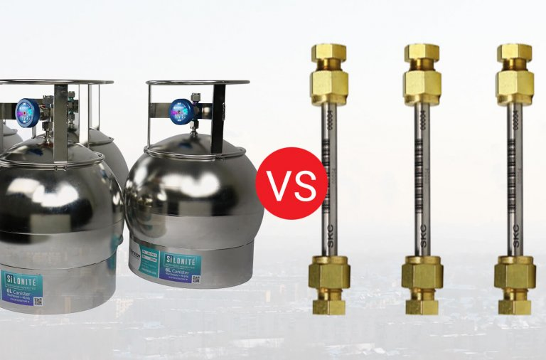 Canisters VS Active Sampling with Adsorbent Tubes
