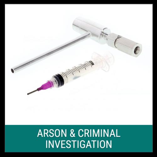 Arson & Criminal Investigation