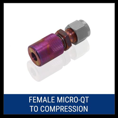Female Micro-QT to Compression