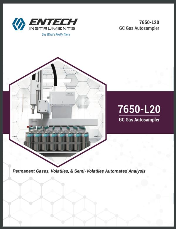 7650-L20 GC Gas Autosampler