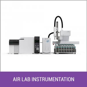Air Lab Sample Prep & GCMS Instrumentation