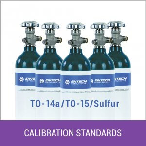 Calibration Standards (cylinders)