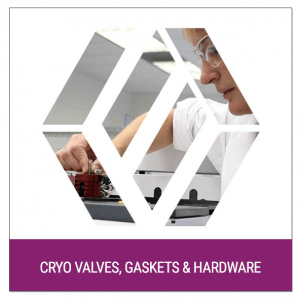 Cryo Valves, Gaskets and Hardware