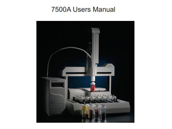 7500A Manual